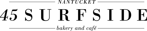 45 Surfside Bakery and Café on Nantucket Island Logo